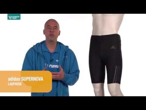 Herren Laufhose adidas Supernova Kurztight