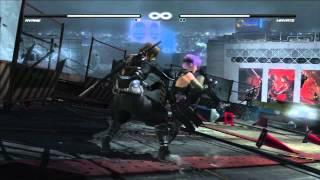 Ayane vs Hayate Gameplay