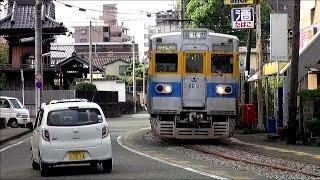 【併用軌道】熊本電鉄 藤崎宮前-黒髪町間