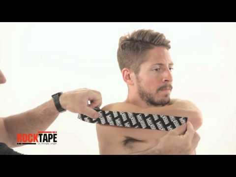 RockTape - Тейпирование трицепса