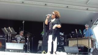 Glenda Davenport sings (By Myself) tribute to Judy Garland