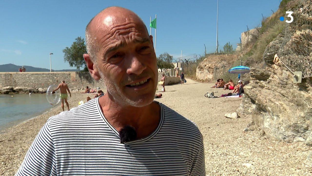 Jean-Marc Barr participe à un concert subaquatique à Toulon