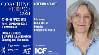 Youtube: Coaching Expo 2021 | Open Talk | COME GESTIRE L'EMERGENZA