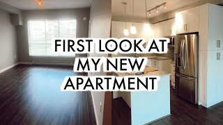 I'm Finally Moving! | First Look At The New Apartment
