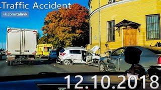 Подборка аварий и дорожных происшествий за 12.10.2018 (ДТП, Аварии, ЧП, Traffic Accident)