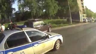 беспредел на дорогах Ижевска