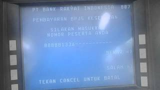 Video Cara Pembayaran Iuran BPJS Via ATM BRI (How To Payment BPJS Via ATM BRI)