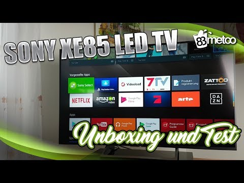 Sony XE85 LED TV Test und Sony HT XT2 TV Soundbar Test | Sony KD 55XE8599 Test | Sony Soundbar Test