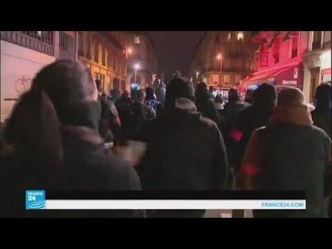 الشرطة الفرنسية تصعد احتجاجتها بشوارع باريس