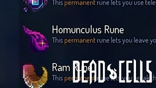 Dead Cells - Homunculus Rune only run (minus final boss, 0 boss cells active)