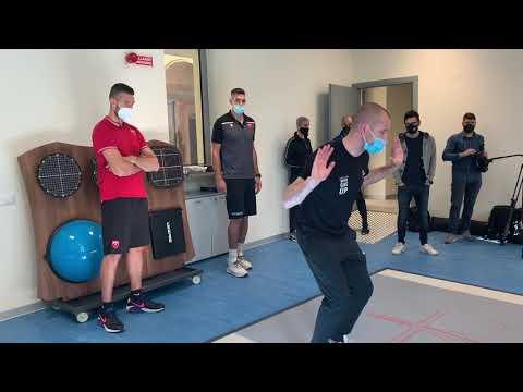 """Uno """"specchio digitale"""" per la riabilitazione e l'allenamento degli sportivi"""