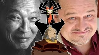 Iroh & Aku Voice Comparisons   (Mako Iwamatsu & Greg Baldwin)