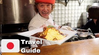Buzzfeed Worth It Winner Best Egg dish in Japan - Kichi Kichi Omurice in Kyoto | Japan Travel Guide