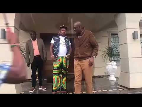 Mike Sonko: Sonko's special guest gets Kenyan talking (Photos and Video)