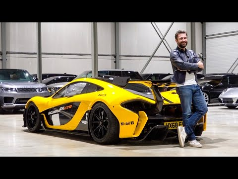 McLaren P1 GTR - ROAD LEGAL! The First Drive