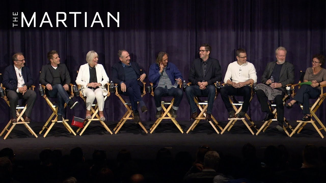 The Martian Cast and Crew Q&A