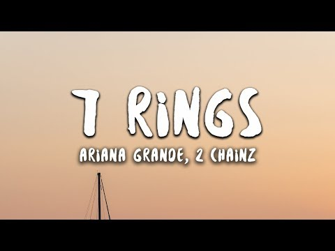 Ariana Grande - 7 Rings Remix Feat 2 Chainz (Lyrics)
