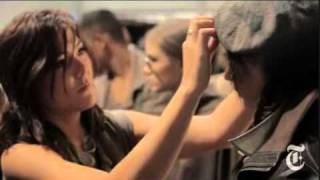 Cutler/Redken howto and Style, Time's Fashion Week Peace