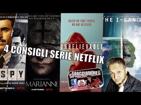 Consigli Serie Netflix - The Spy, Marianne, Umbelievable, I Land