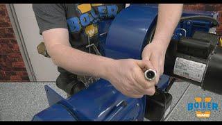 Cleaning the Burner's Flame Sensor