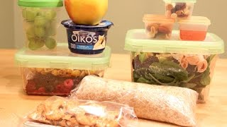HEALTHY LUNCH IDEAS for Work/School + Dietitian Tips!