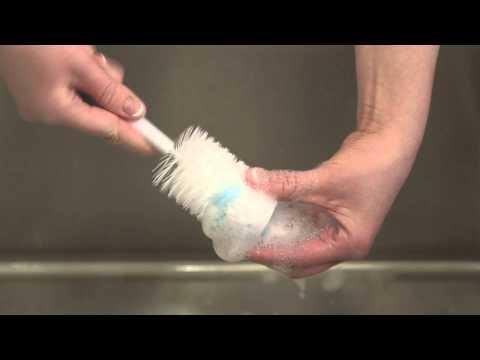 Limpieza del biberón Dr. Brown's boca estándar