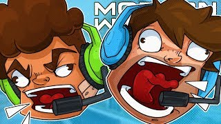 Screaming At Everyone In Game Chat Because Discord is Down - CoD Modern Warfare!