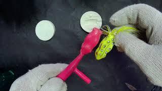 Мягкие рыболовные приманки лягушки мыши
