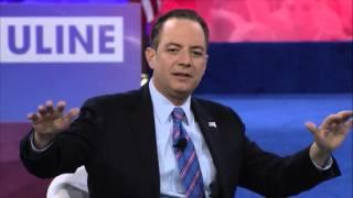 CPAC 2016 - RNC Chairman Reince Priebus & Sean Hannity