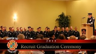 preview picture of video 'Brampton Fire & Emergency Services Graduation 2013 - 02'