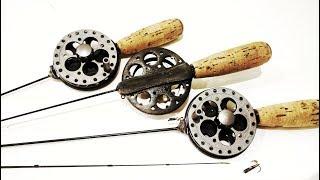 Зимняя рыбалка удочки для безмотылки