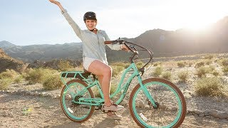 Chill Chaser pedals her way to fun with Pedego!