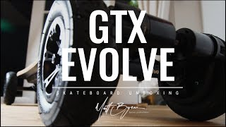 ELECTRIC SKATEBOARD GTX evolve