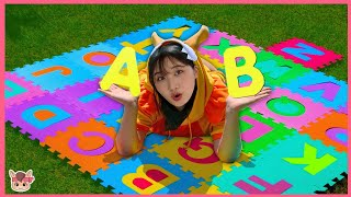 ABC 노래 하며 놀아요! 인기동요 장난감 놀이 ABC Song with Alphabet | +More Nursery Rhymes & Kids Songs