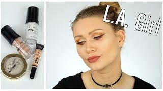 GEHYPTE L.A. GIRL PRODUKTE | HD Foundation, HD Concealer, Highlighter | Test & Review