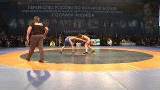 Хадарцев Алик (Алания) - Гаджиев Исмаил (Дагестан)