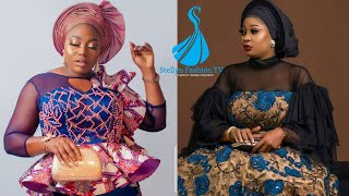 Stylishly Beautiful Ankara And Lace Dresses For Women: +40 Asoebi Styles Collection