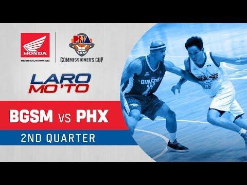 [Sport5] Ginebra vs. Phoenix – Q2 | PBA Commissioner's Cup 2018