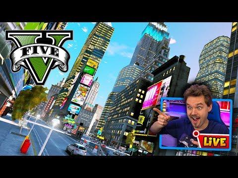 Pre Alpha : GTA 5 Liberty City Map! (GTA 5 Mods) - игровое видео