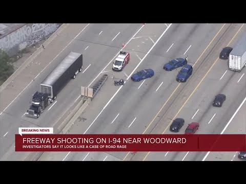 WB I-94 back open near Woodward after police investigate road rage shooting