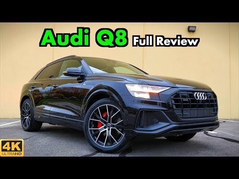 2019 Audi Q8: FULL REVIEW + DRIVE | Iron Mans Gotta New SUV!