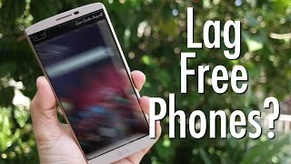 What is lag? Will there ever be a lag free phone?