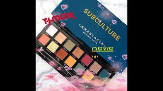 Anastasia Subculture Palette Tutorial and Review