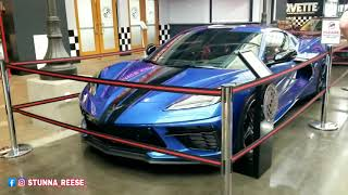 THEY TOOK DELIVERY OF A NEW C8 AT THE CORVETTE MUSEUM