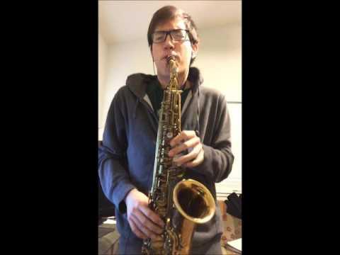 Charlie Parker Just Friends on Alto Saxophone