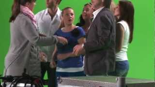 Valentina Monetta Eurovision Song Contest 2012 San Marino  Making of Video The Social Network Song