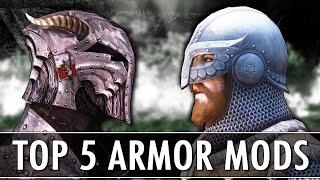 Skyrim: Top 5 Armor Mods 2018