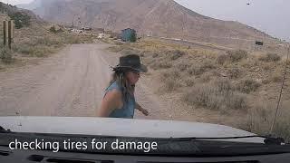 RIDICULOUS Road Near Cody, Wyoming