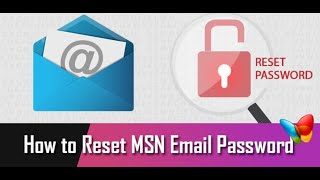 ©[𝟷(𝟾𝟾𝟾) 𝟽𝟷𝟾-𝟶𝟽𝟺𝟻] | How to reset or change MSN password | Recover MSN mail account