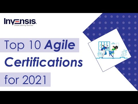 Top 10 Agile Certifications to pursue in 2021 - Best Agile ... - YouTube
